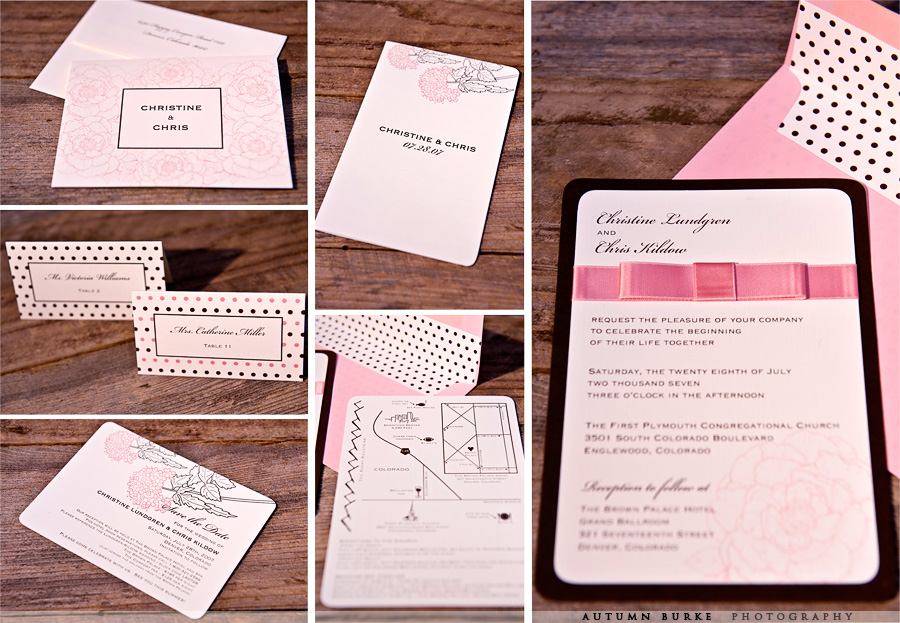 js design custom wedding stationary
