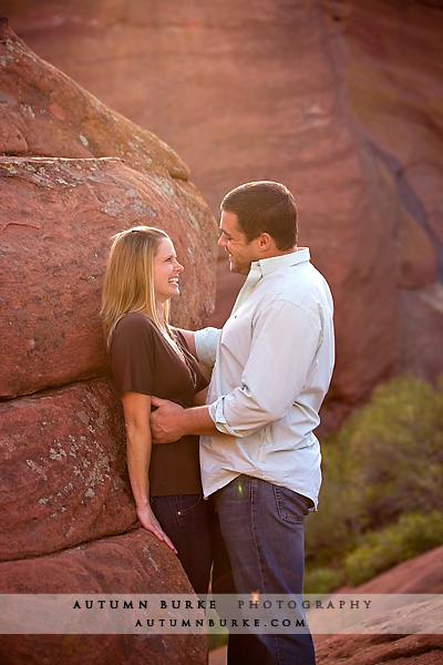 colorado engagement portrait