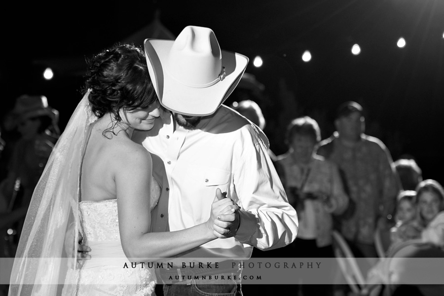 colorado wedding first dance