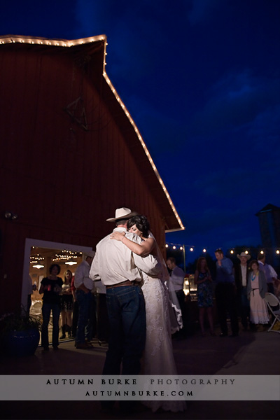 denver botanic gardens chatfield barn wedding colorado first dance