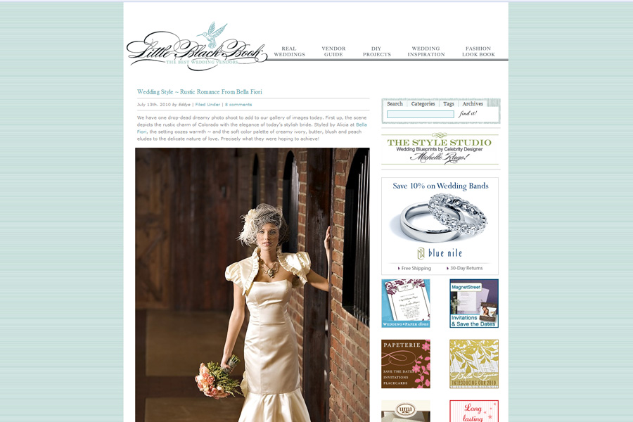 style me pretty photo shoot crooked willow magazine blog feature