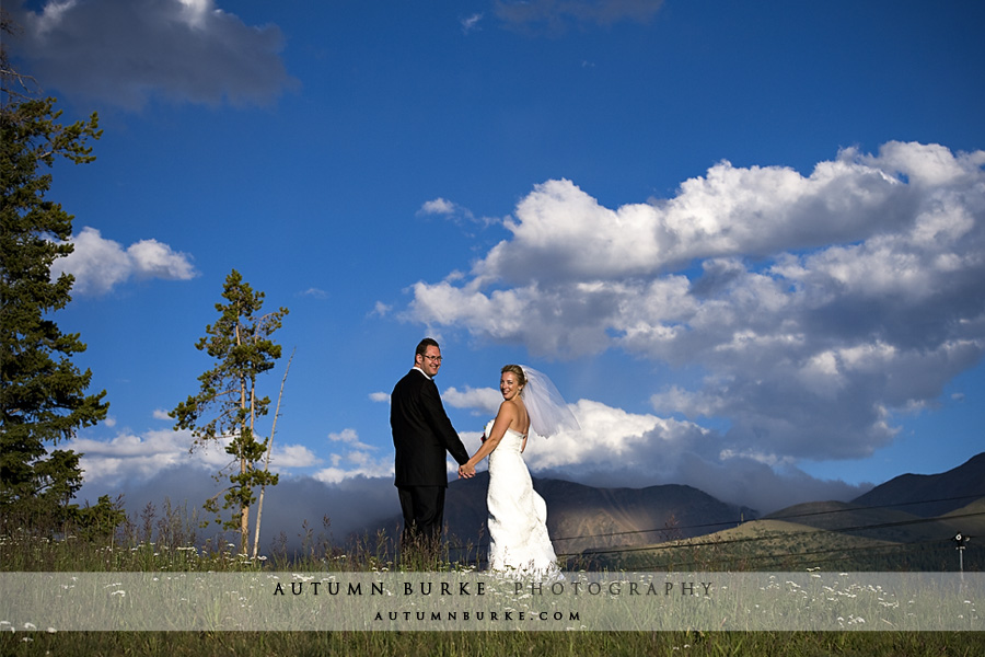 colorado mountain winter park wedding