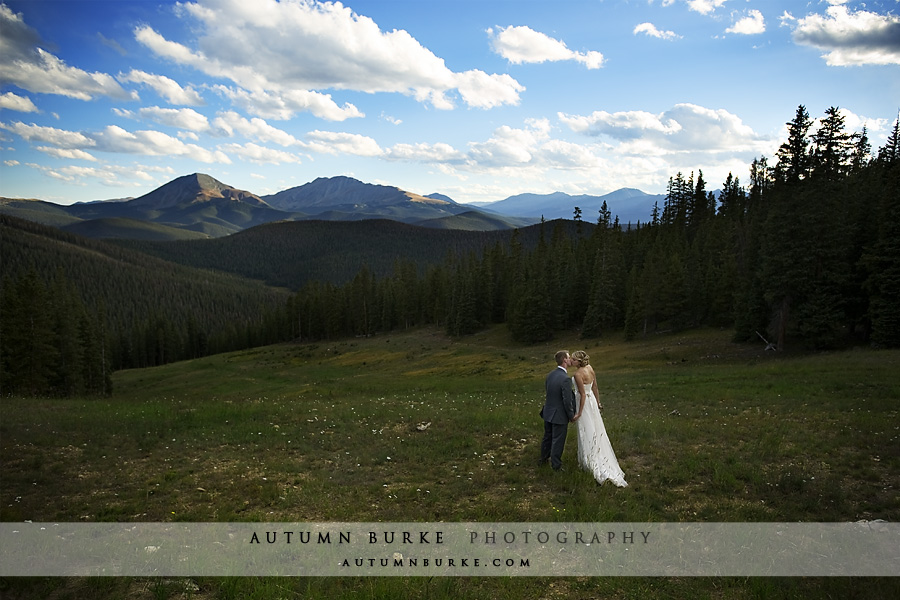 colorado mountain wedding keystone