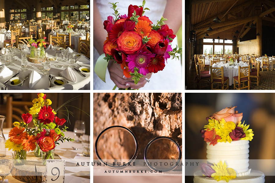 winter park mountain wedding details