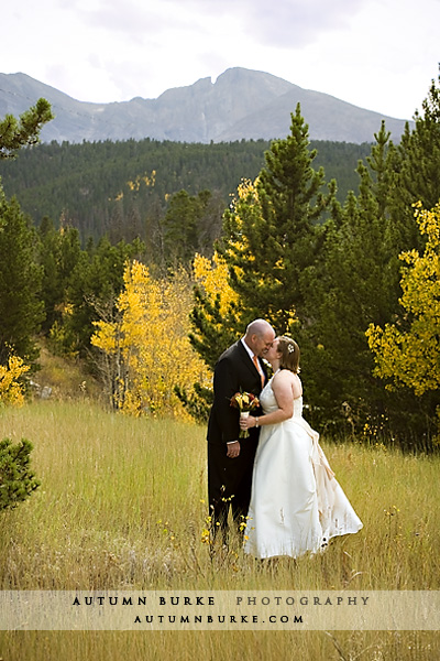 estes park colorado wedding fall autumn aspen