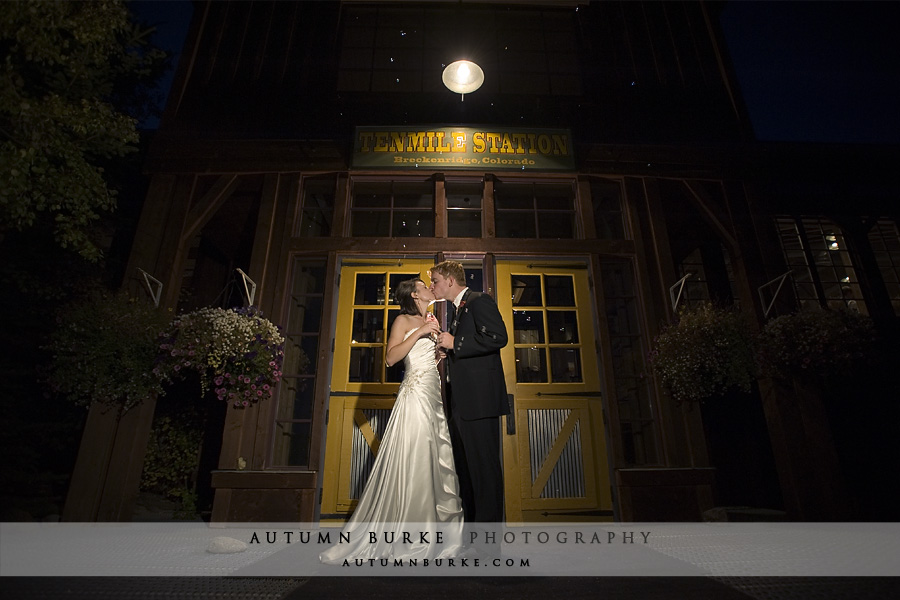 ten mile station breckenridge colorado wedding