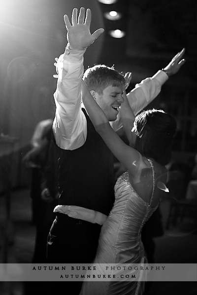 ten mile station colorado bride groom dancing reception