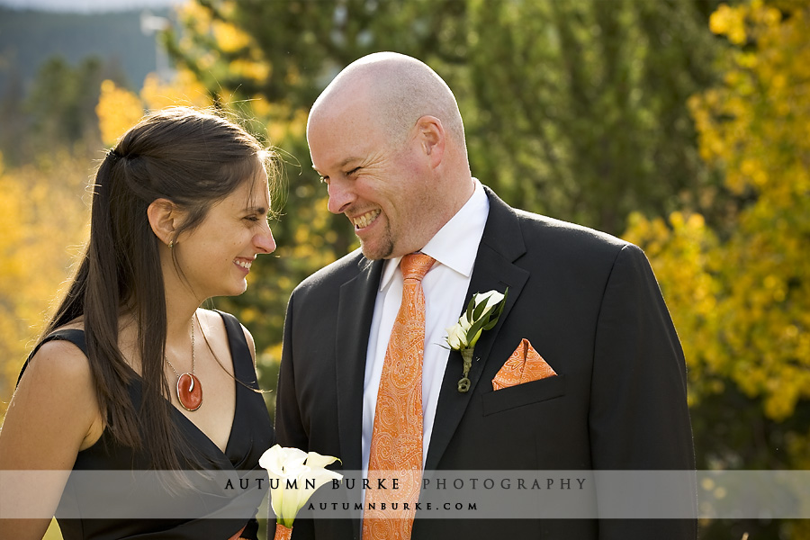 groom estes park colorado wedding