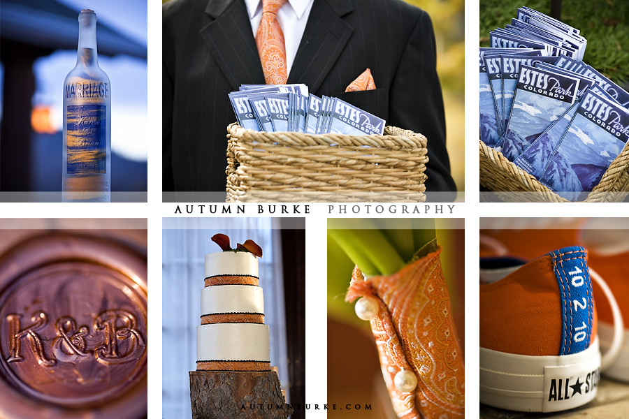 fall inspiration board orange autumn wedding details