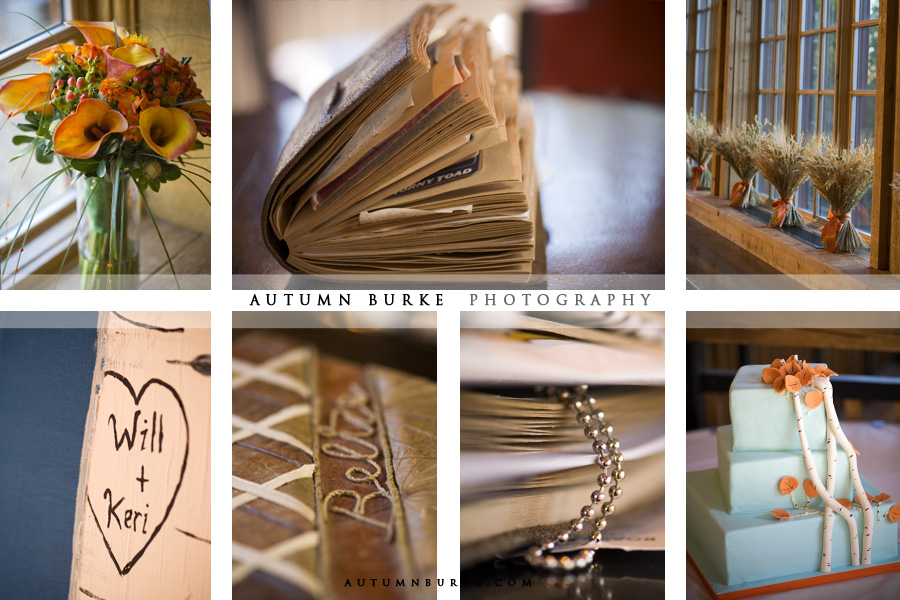 autumn fall wedding details collage inspiration board