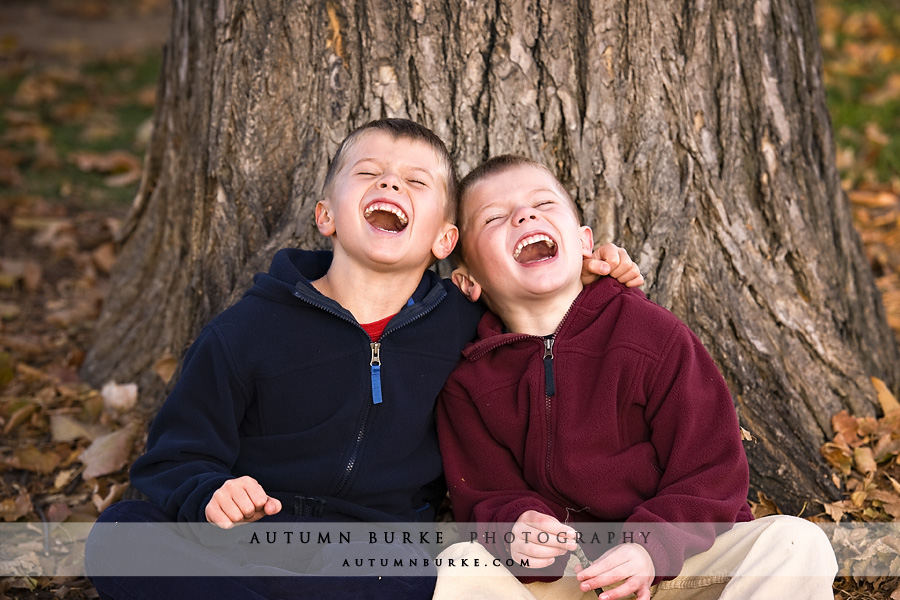 denver colorado portrait brothers laughing
