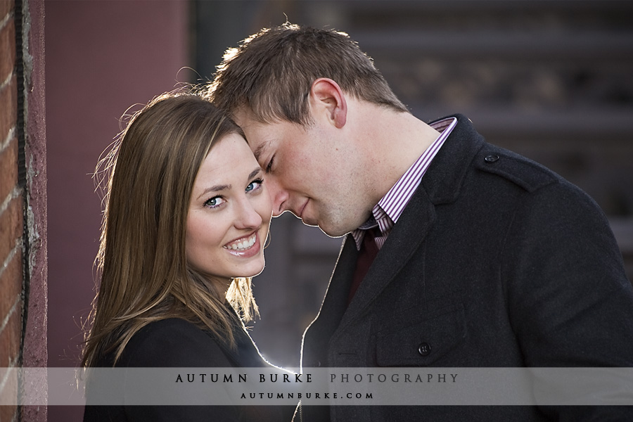 engagement portrait denver colorado