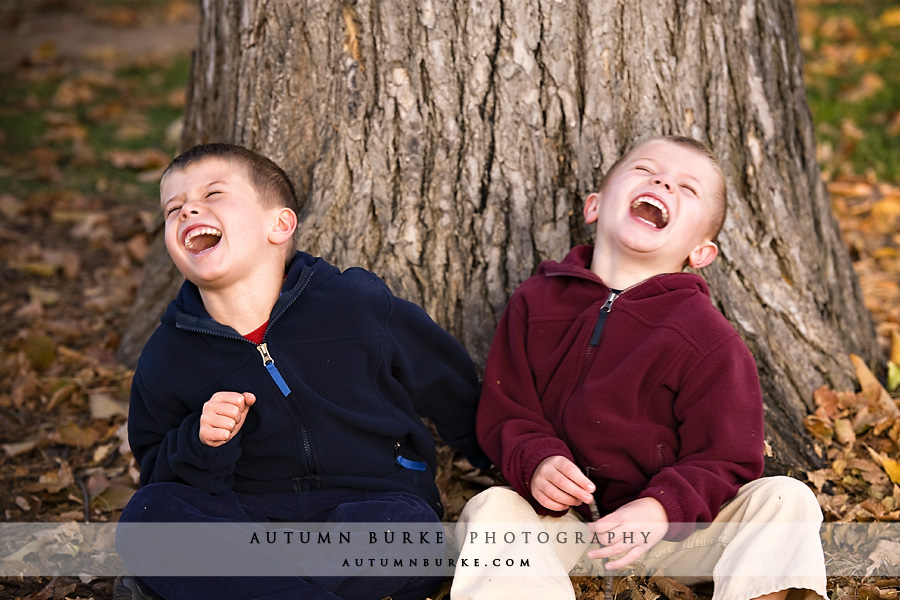 wash park denver colorado childrens portrait brothers