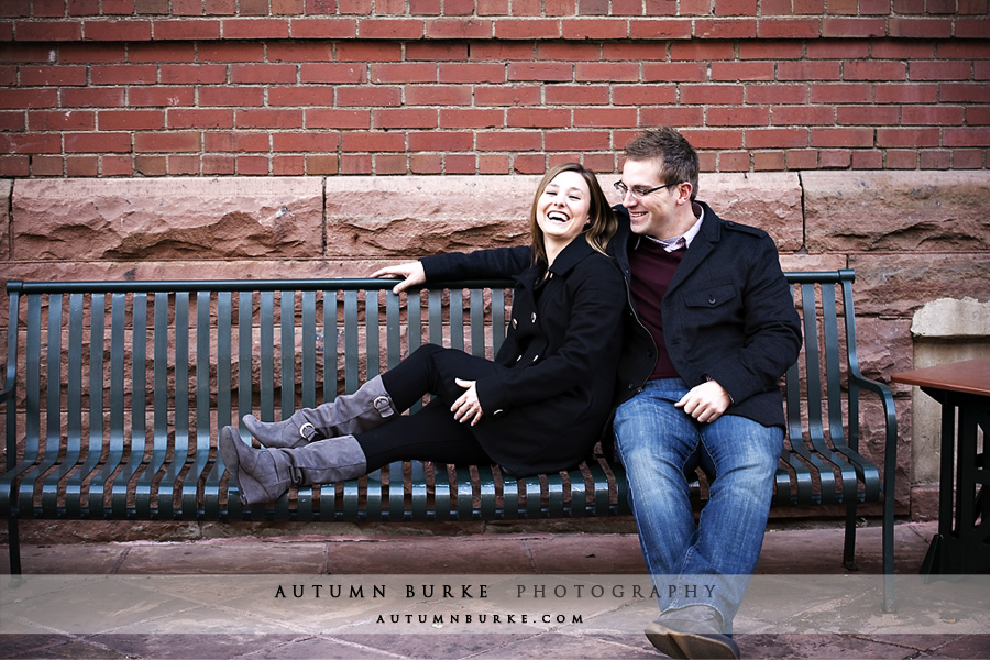denver colorado lodo downtown engagement session portrait