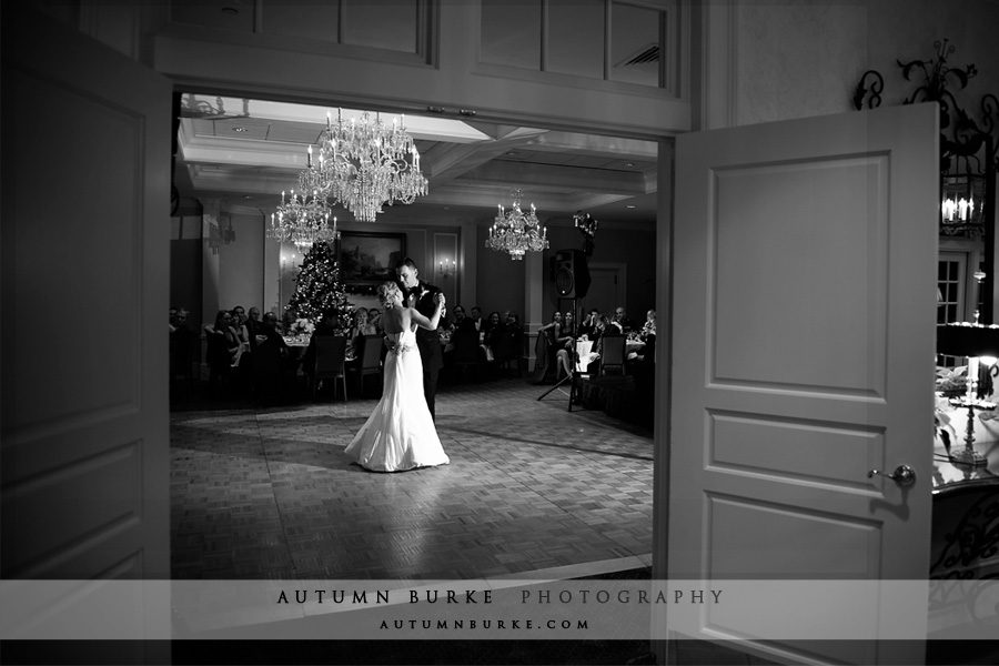 denver country club colorado wedding first dance