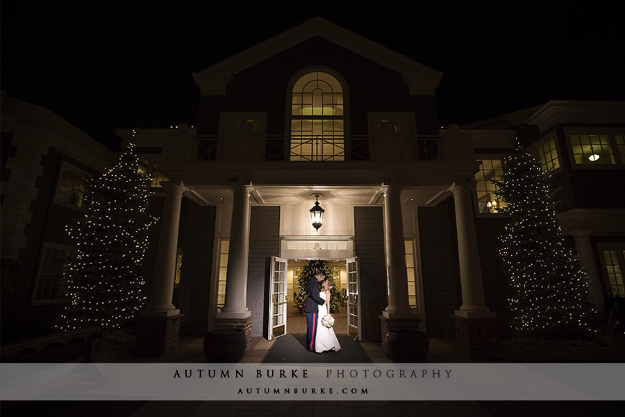 denver country club bride groom wedding