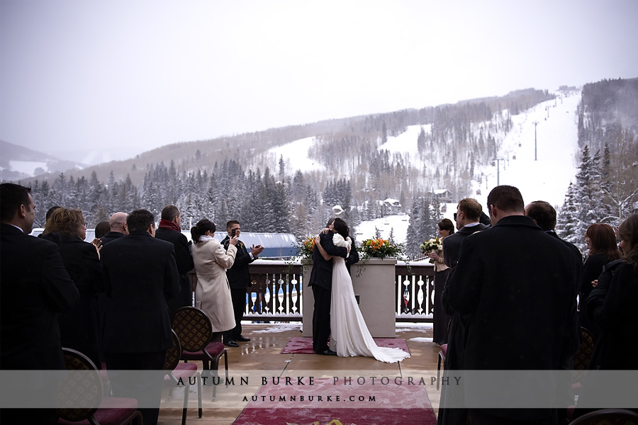 Vail Colorado winter wedding Arrabelle