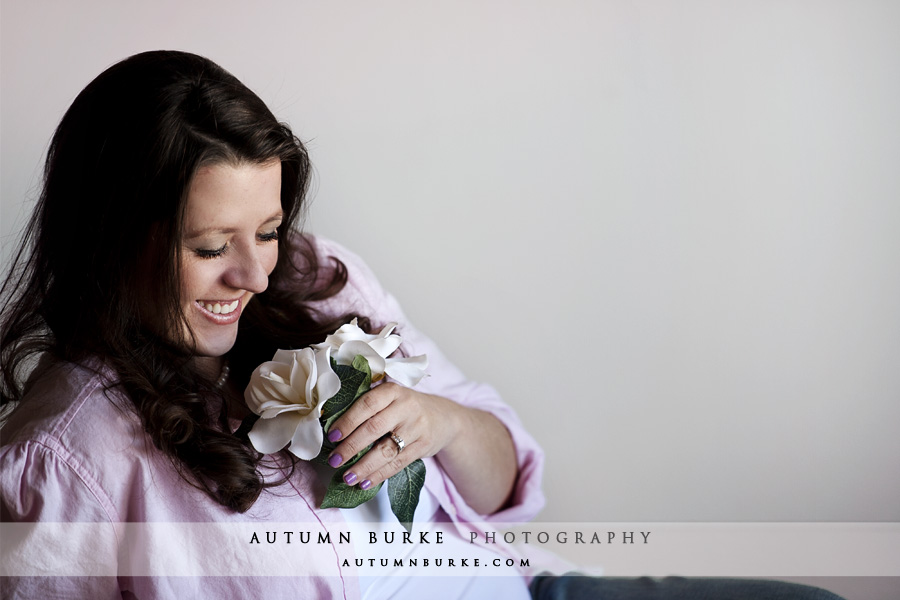 denver colorado maternity portrait session