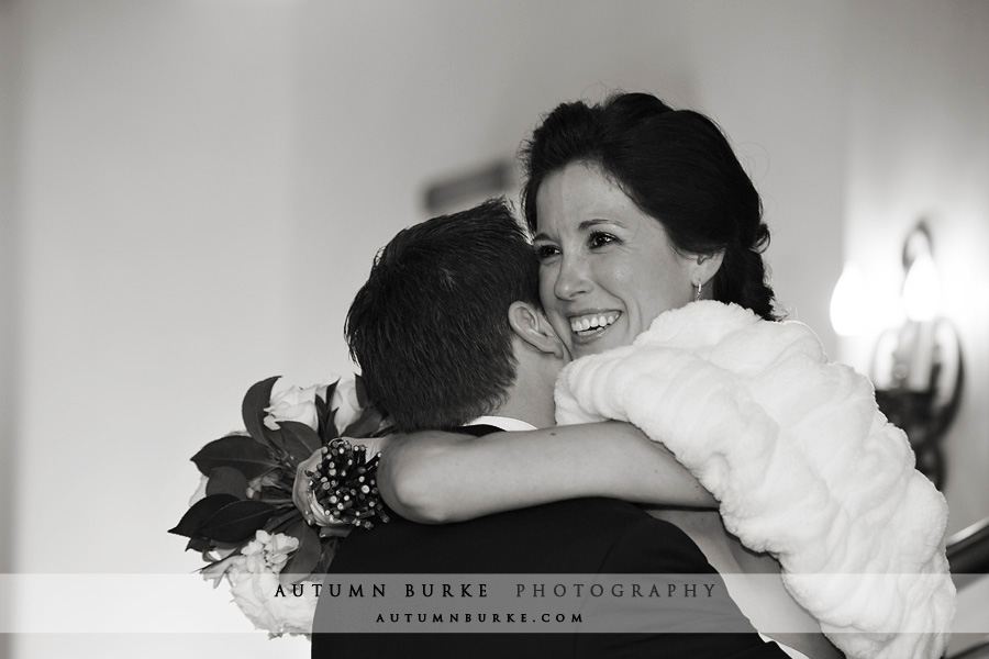 vail colorado bride groom first look