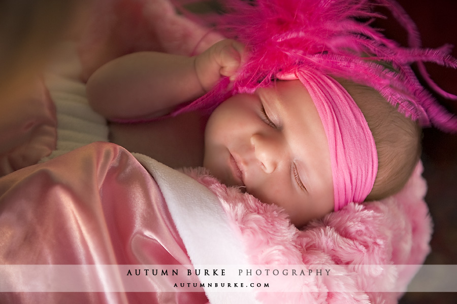 denver colorado newborn baby girl portrait photographer