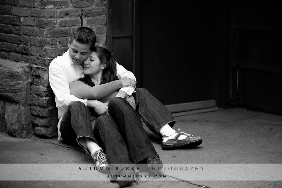 denver colorado wedding engagement portrait session