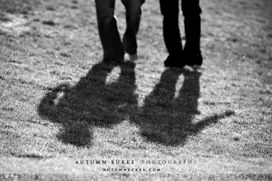 colorado engagement portrait shadow