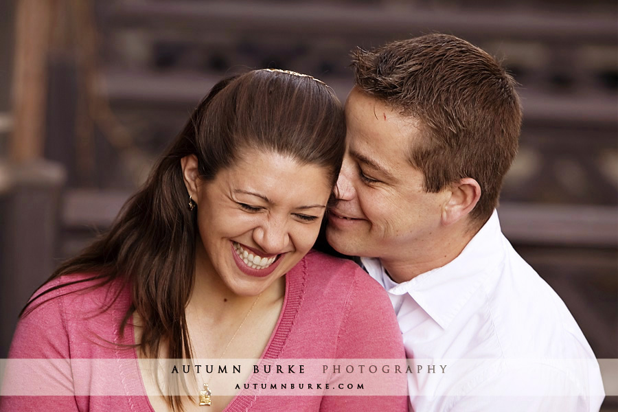 downtown denver colorado wedding engagement portrait session
