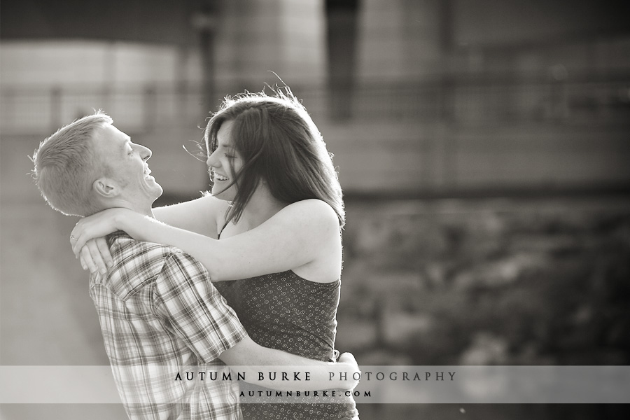 denver colorado wedding engagement session natural