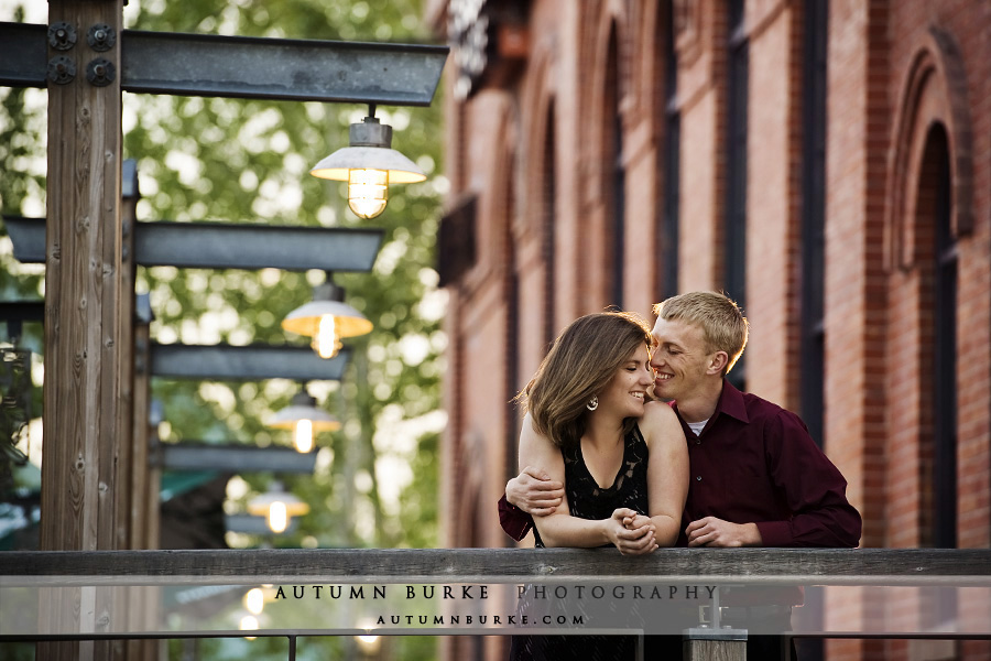 downtown denver REI wedding engagement portrait session