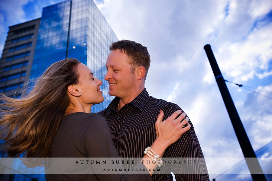 downtown denver lodo engagement session