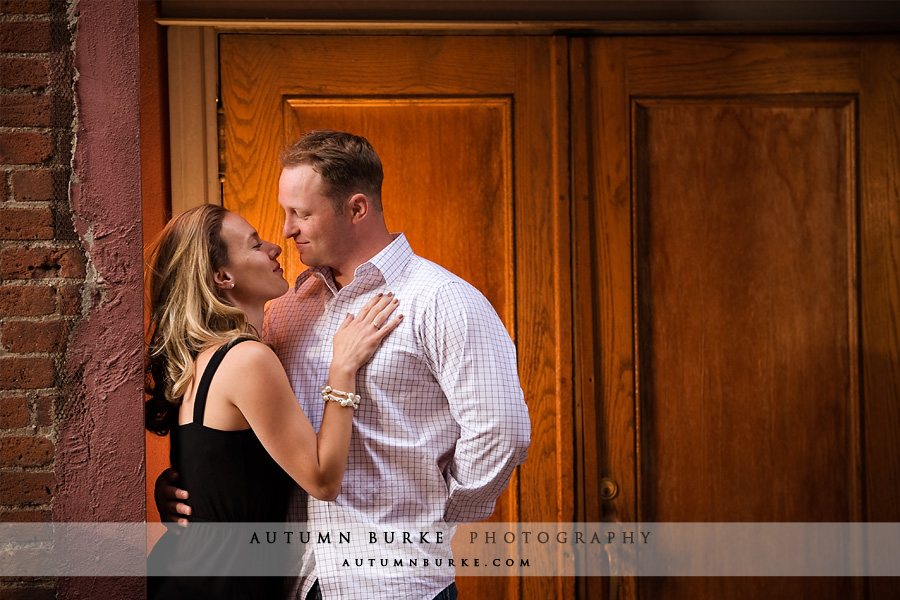 downtown denver colorado engagement portrait session