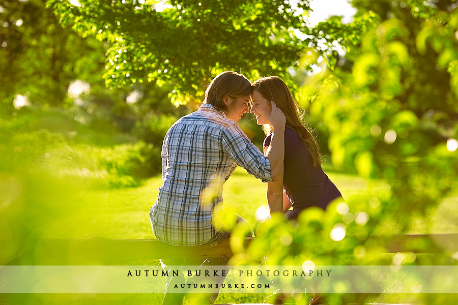 littleton colorado wedding engagement session