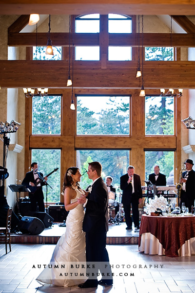della terra estes park colorado wedding first dance
