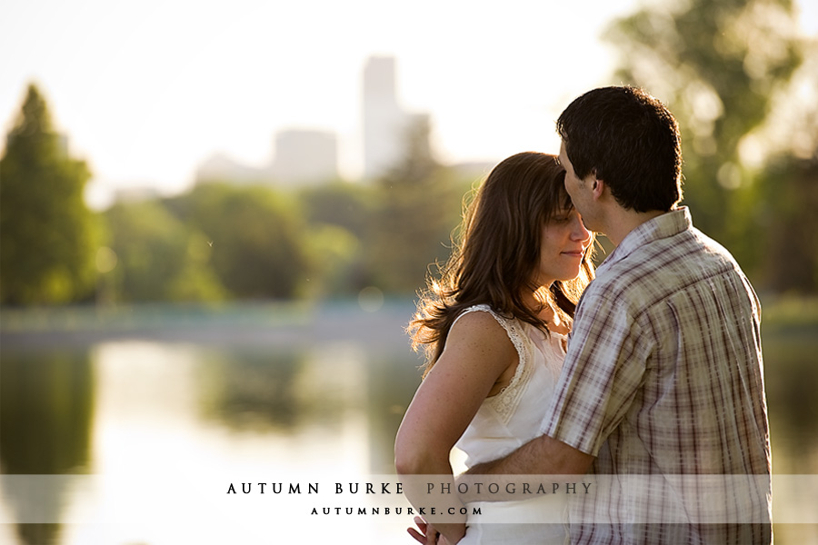 city park denver engagement session