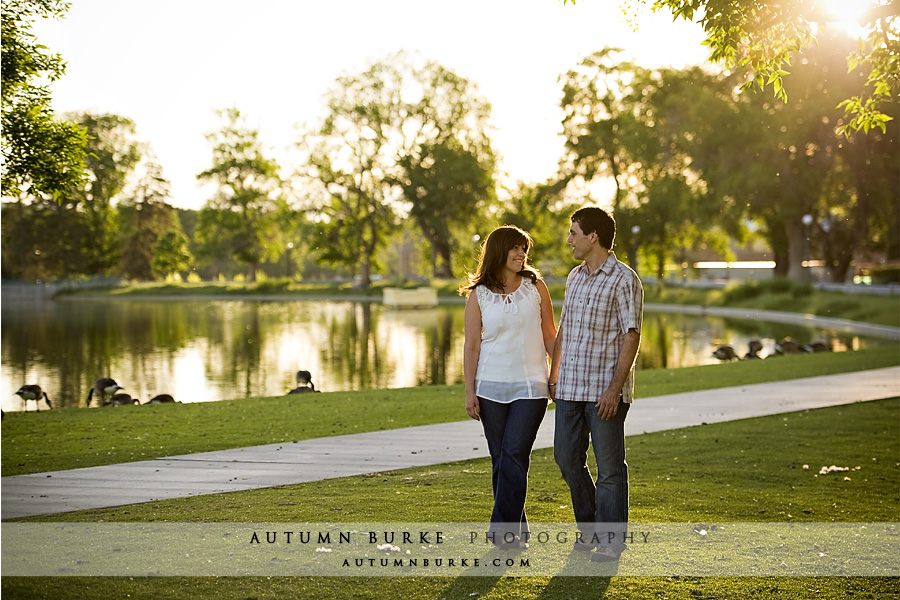 city park denver engagement portrait session