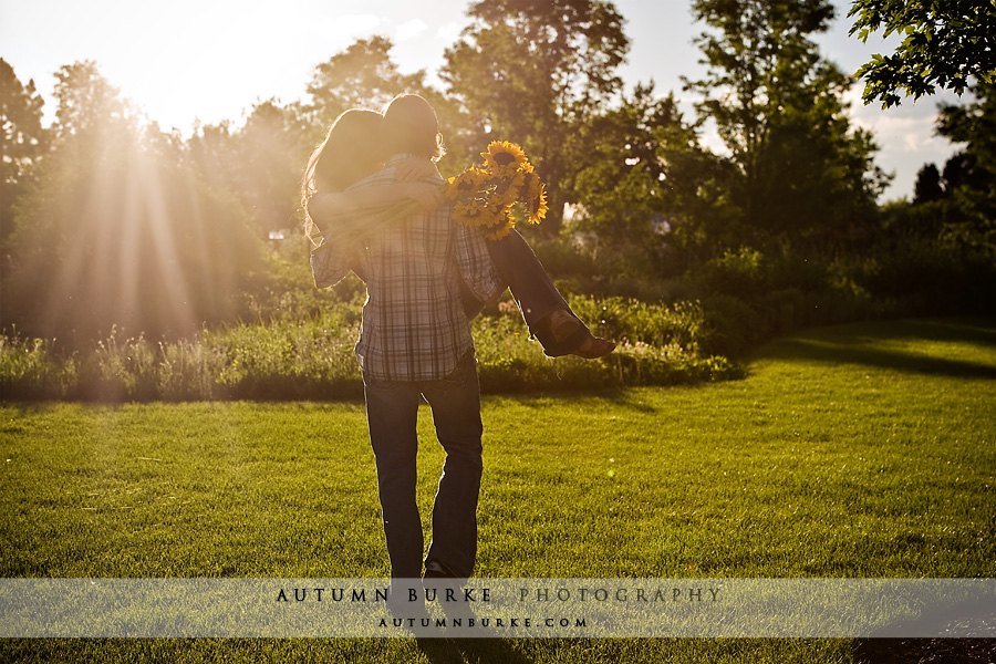 hudson gardens littleton colorado engagement