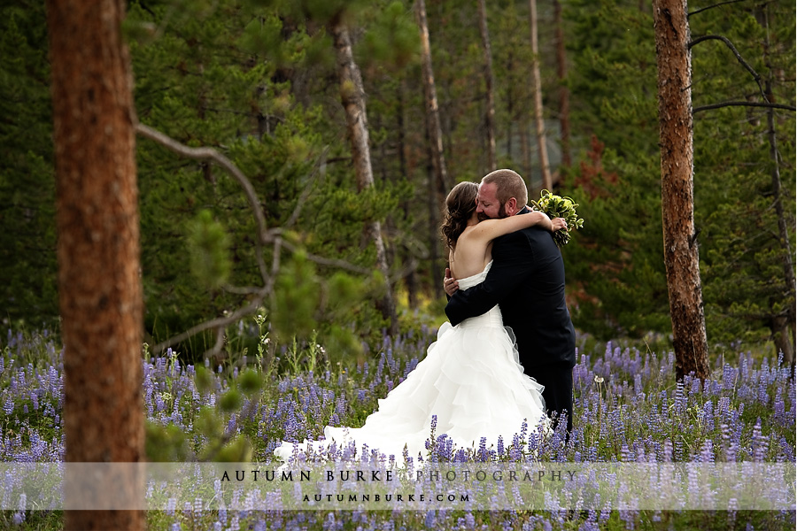 winter park colorado wild horse inn wedding bride groom first look
