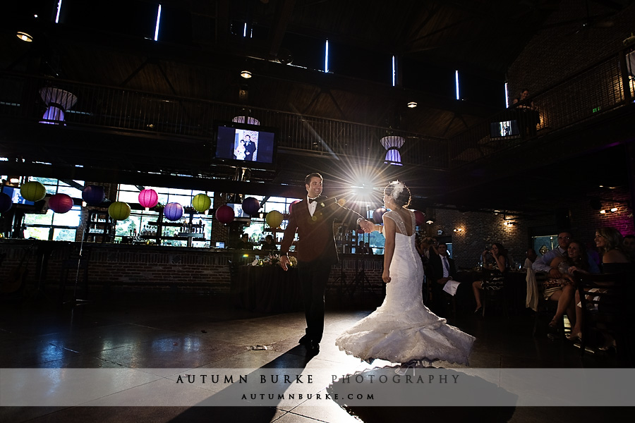 denver colorado mile high station wedding first dance