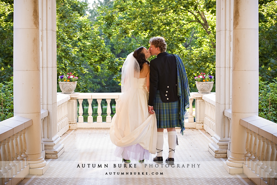 grant humphreys mansion denver colorado wedding kilt