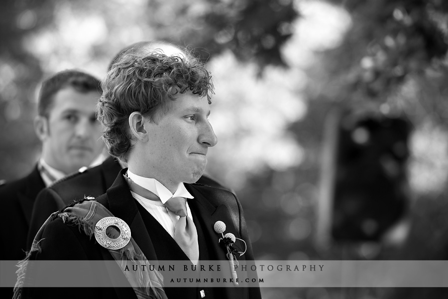 denver colorado wedding ceremony emotional groom