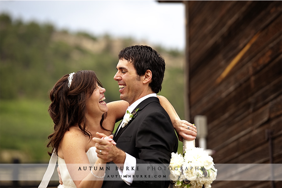 spruce mountain ranch larkspur colorado wedding