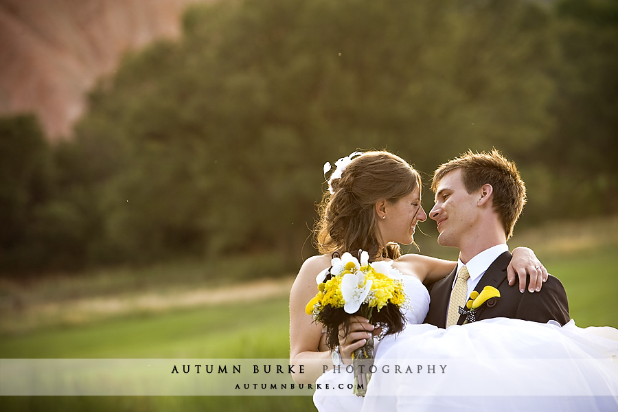 littleton colorado arrowhead wedding