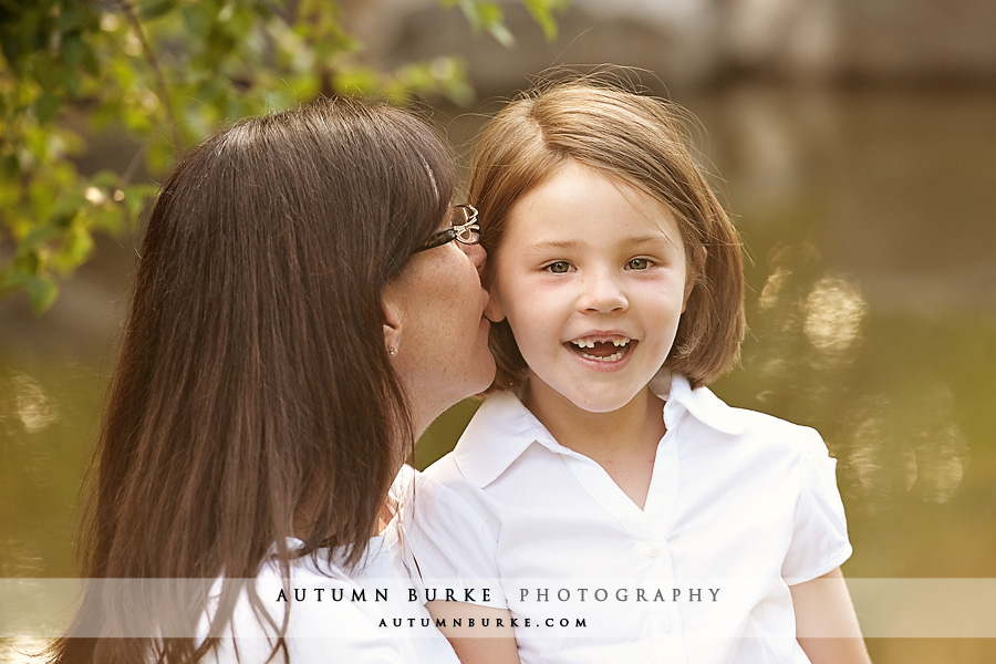 denver colorado mother daughter family portrait littleton