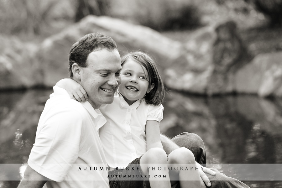 denver colorado family portrait session littleton father daughter