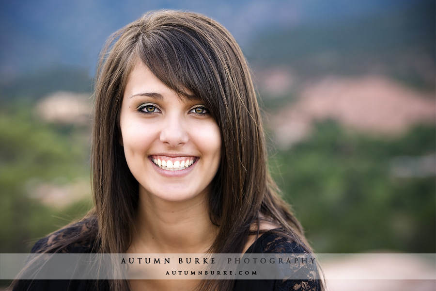 denver colorado high school senior portrait