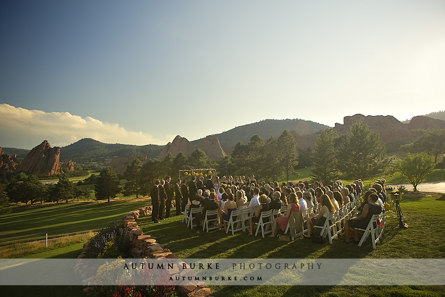 arrowhead golf littleton colorado wedding ceremony