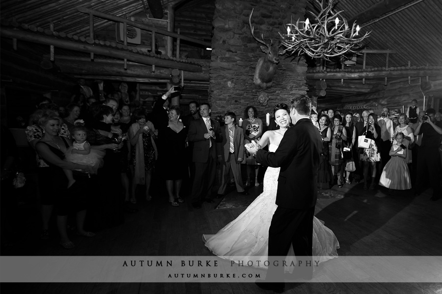 keystone resort keystone ranch mountain wedding first dance