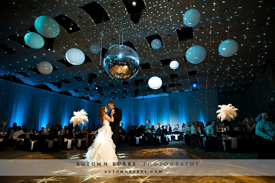 dcpa denver seawell ballroom wedding first dance Happy Friday