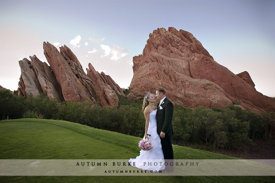 arrowhead golf club wedding littleton colorado bride groom