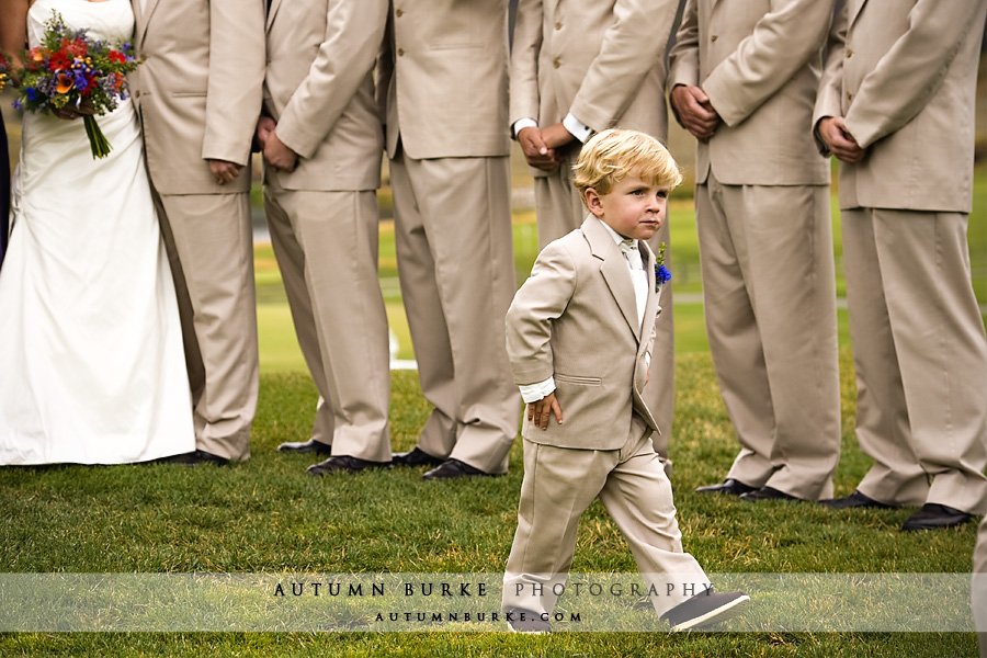 keystone ranch colorado mountain wedding ring bearer